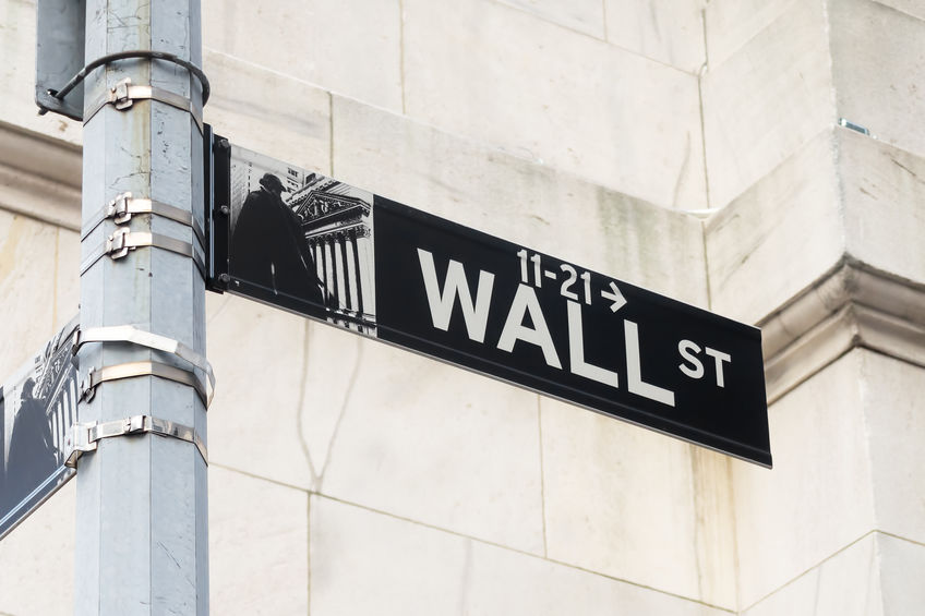 image wall street sign