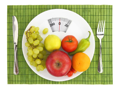 image scale and food